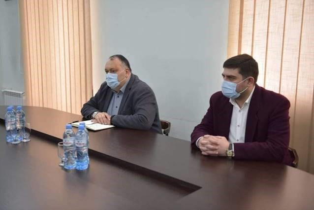 Meeting with the Mayor of Kutaisi