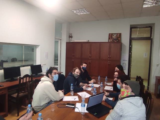Meeting with the LOC in Tbilisi